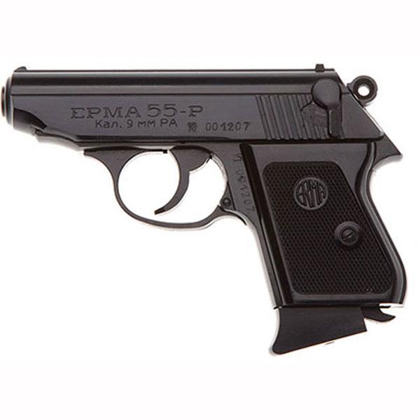 Стальной травматический пистолет Эрма-55-Р